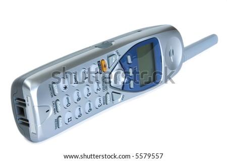 Cordless handset - stock photo