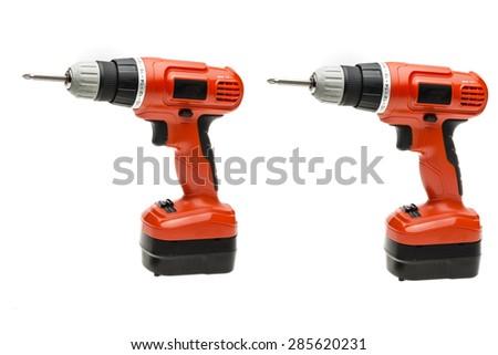 Cordless Screw - stock photo