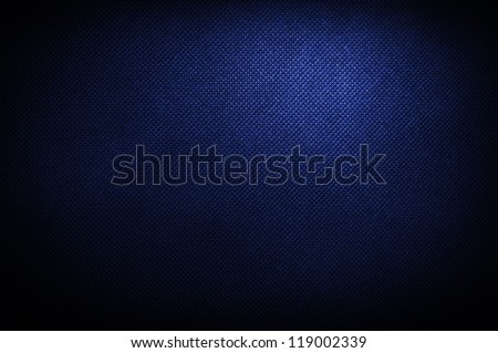 corduroy polipropylen blue background - stock photo