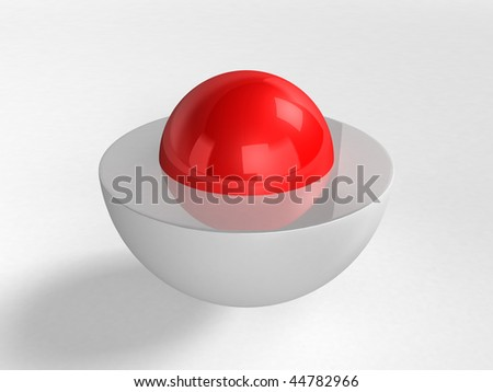 core - 3d rendering - stock photo