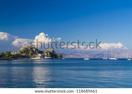 Corfu island,Greece - stock photo