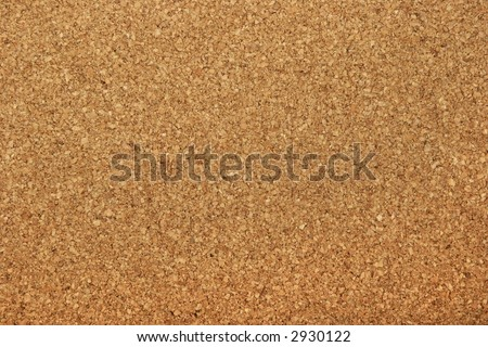 Cork board background texture - insert your own message or bulletin with thumbtacks