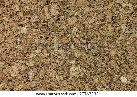 Cork board pattern, texture - stock photo