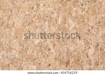 cork board surface office or school background - stock photo
