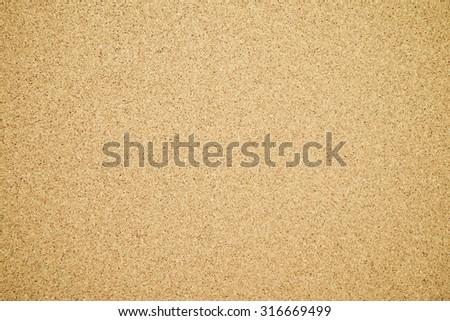 Cork brown textured background - Retro filter effect - stock photo