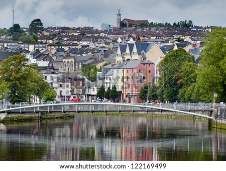 cork city - stock photo