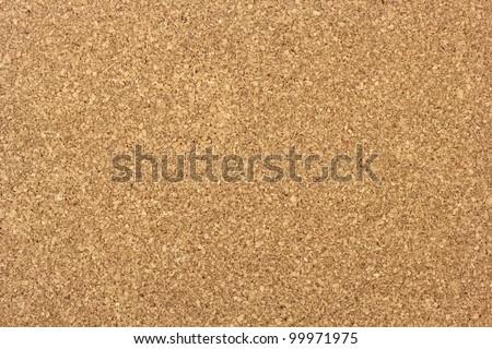 Cork noticeboard - stock photo