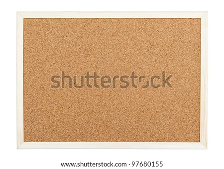Corkboard - stock photo