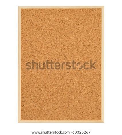 Corkboard (board bulletin) - stock photo