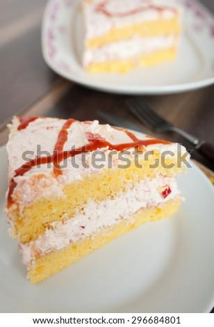 Corn Bread Cake - stock photo