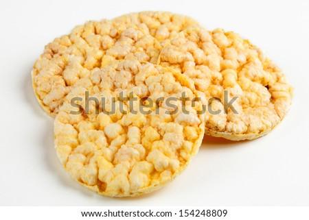 corn cake - stock photo