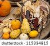 Corn holiday decorations - stock photo