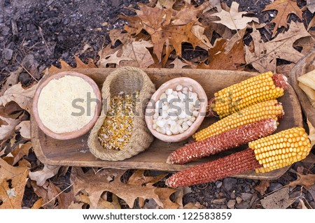 Corn meal old fashion - stock photo