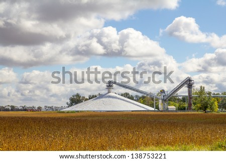 corn processing ethanol - stock photo