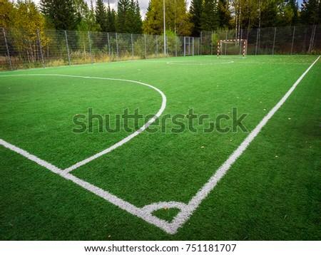 Soccer Field Goal Area
