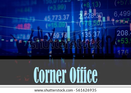Collateral note hand writing word represent stock photo for Bureau word origin