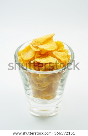 Cornflakes in the glass - 1