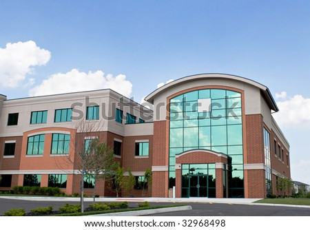 Corporate Building - stock photo