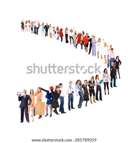 Corporate Culture Business Idea  - stock photo