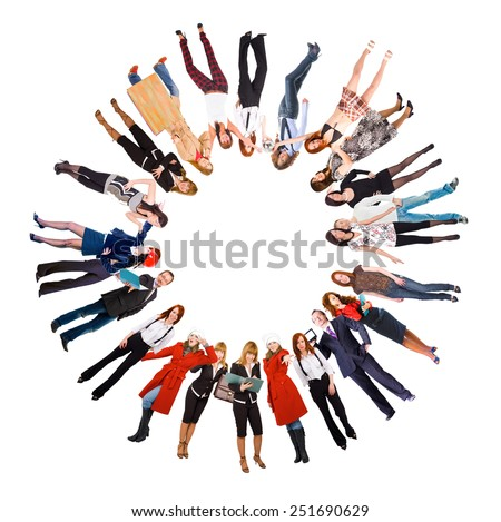 Corporate Culture Concept Image  - stock photo
