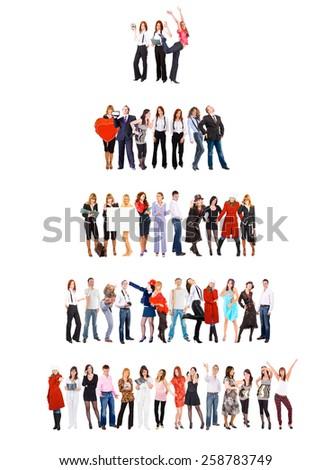 Corporate Culture People Diversity  - stock photo