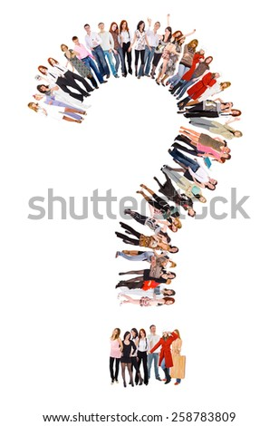 Corporate Culture Together we Stand  - stock photo