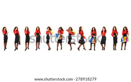 Corporate Culture Workforce Concept  - stock photo