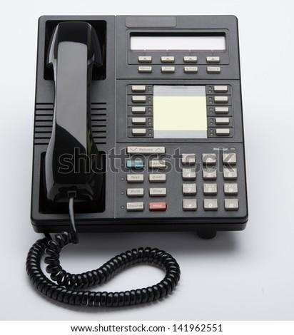 Corporate Desk Phone - stock photo
