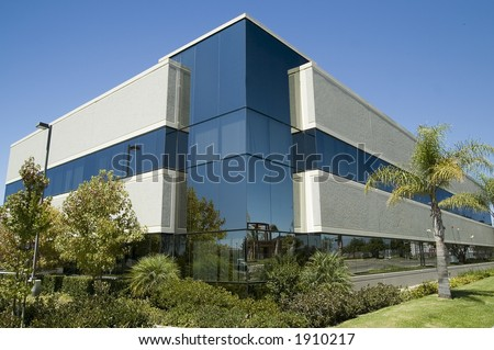 Corporate Headquarters 1 - stock photo