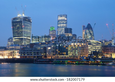 Corporate Office building, London  - stock photo