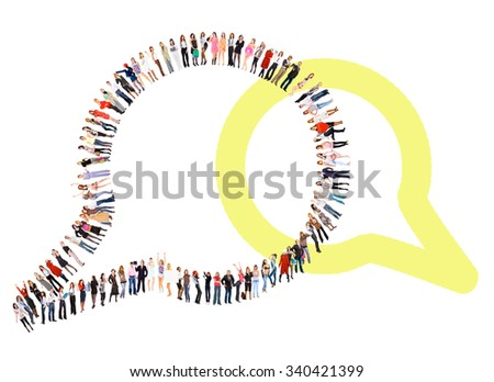 Corporate Teamwork Together we Stand  - stock photo