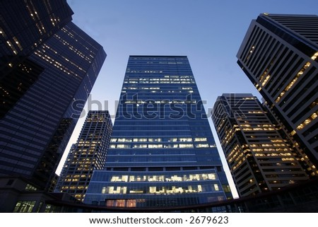 Corporations - stock photo