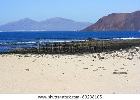 Corralejo, Canary Island Fuerteventura, Spain - stock photo