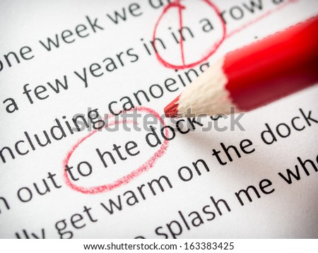 essay stock images royalty images vectors shutterstock correcting an essay red pencil