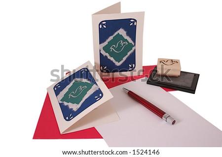 correspondence - stock photo