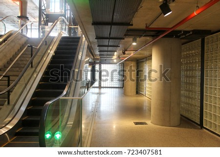 corridor and staircase