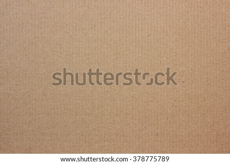 Corrugated brown cardboard. Background, texture.