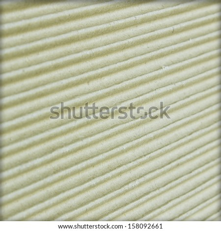 Corrugated cardboard, - stock photo