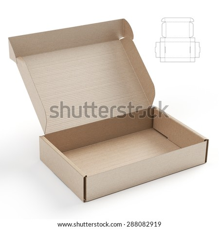 corrugated box stock images royalty free images vectors shutterstock. Black Bedroom Furniture Sets. Home Design Ideas