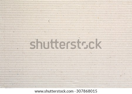 Corrugated cardboard texture for Poster gift background - stock photo