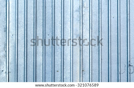 corrugated metal roof background