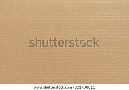 Corrugated Paper Texture - stock photo