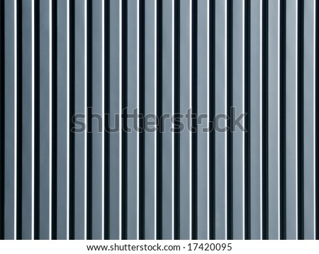 Corrugated surface. - stock photo