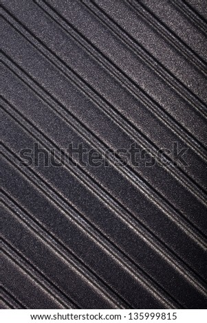 corrugated surface metal  texture - stock photo