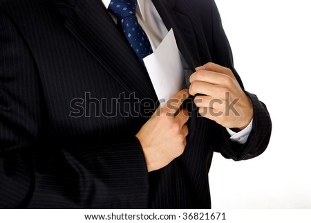 corruption - stock photo