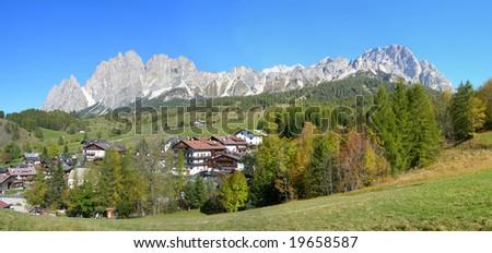 Cortina d'Ampezzo 01 - stock photo