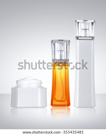 Cosmetic beauty product - stock photo