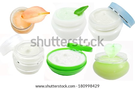 cosmetic creme for face health-care