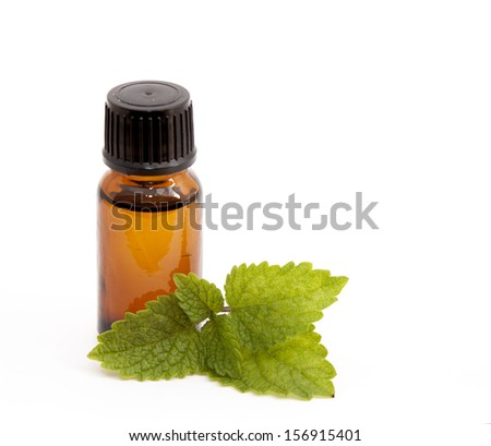 Cosmetic essential oil of lemon balm