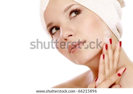 Cosmetic medicine - stock photo